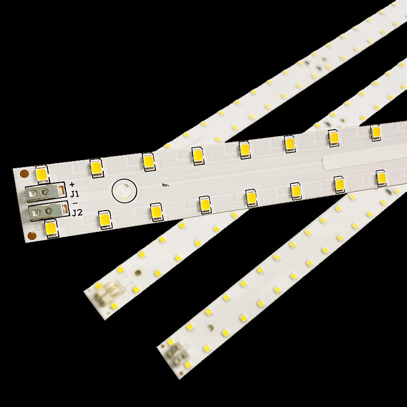 500mm 19.5'' smd rigid led pcb strip recessed led linear high bay fixture light l pcba ciruitboard module led board